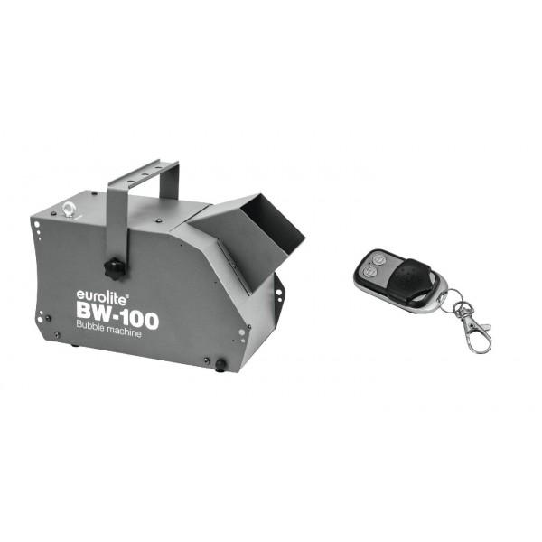 macchina bolle bW 100 con telecomando wireless