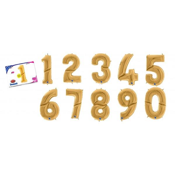 """Numero Grabo 64""""/163 cm oro"""
