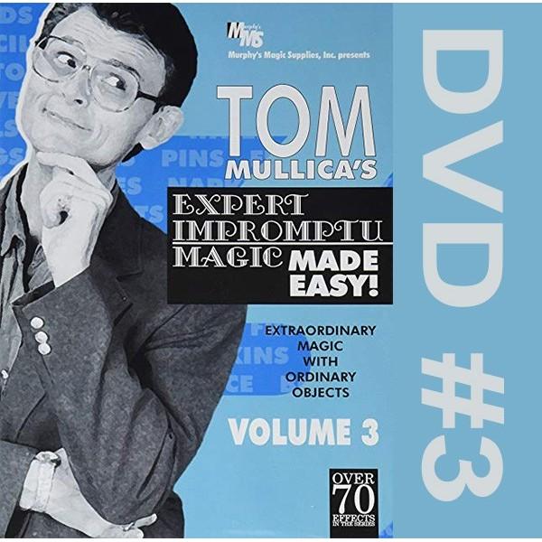 DVD Mullica Expert Impromptu Magic Made Easy 3