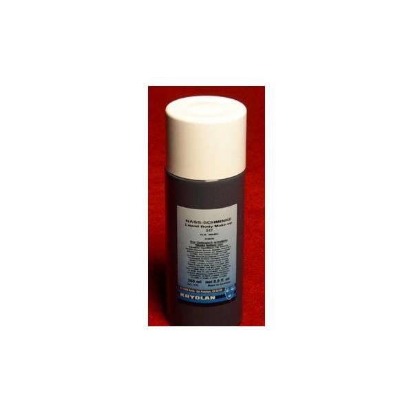 make up liquido 100ml bianco o nero