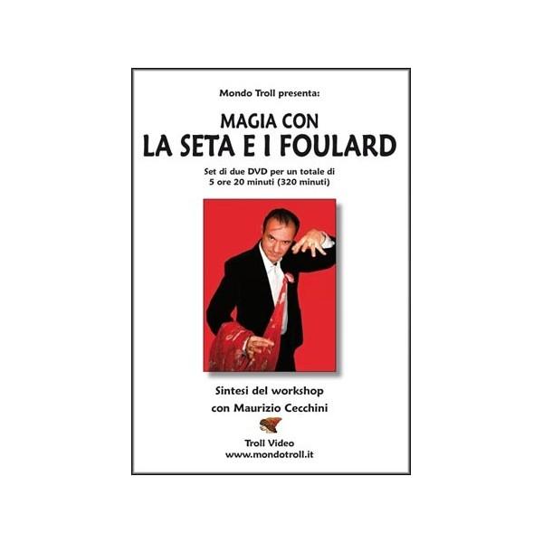 DVD Magia con la Seta e i Foulard