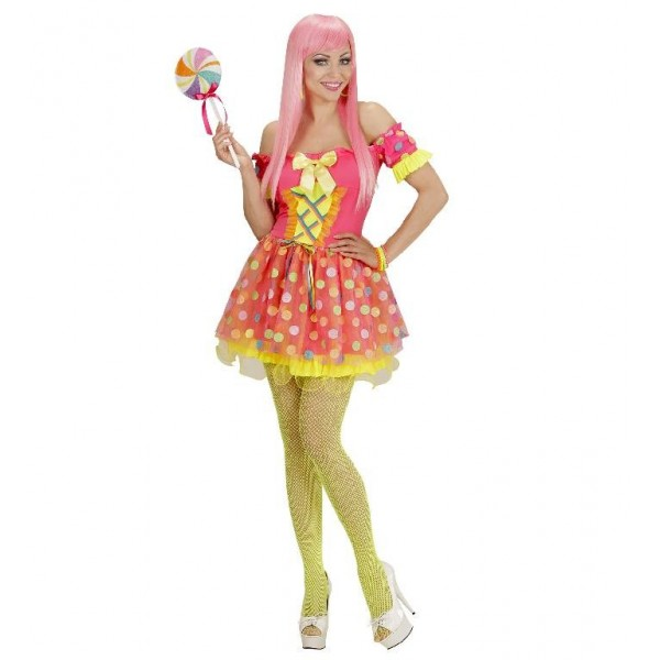 Costume fluo candy girl