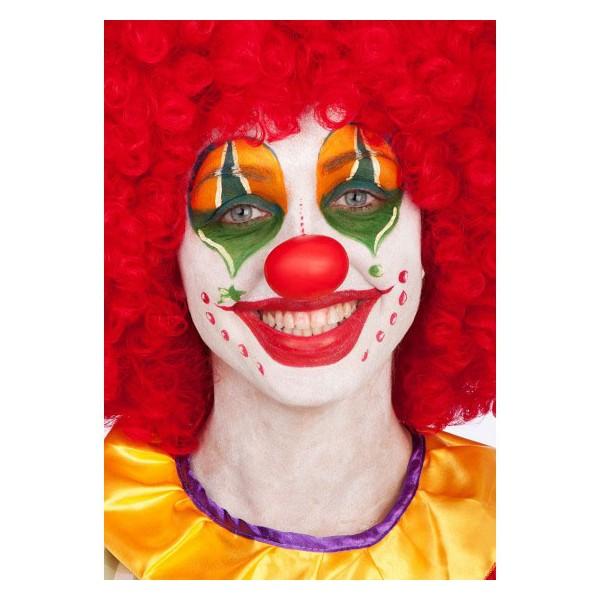 naso clown rosso in gomma