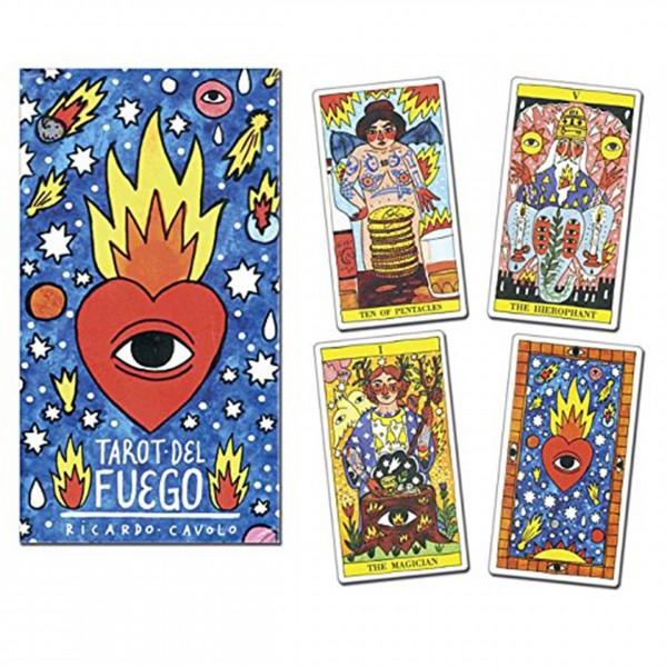 Tarocchi Tarot del Fuego