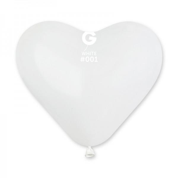 """Palloncino cuore piccolo 5""""/12,5 cm monocolore"""