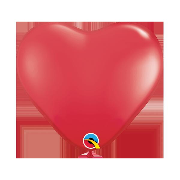 """Palloncini cuore Qualatex 5""""/12,5 cm 100 pz.  monocolore"""