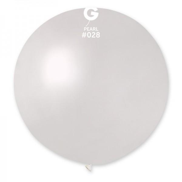 """Palloncino mongolfiera 30""""/80cm metal - 1pz vari colori"""