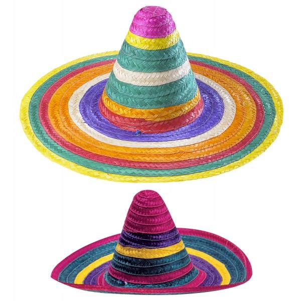 Sombrero multicolor 50cm