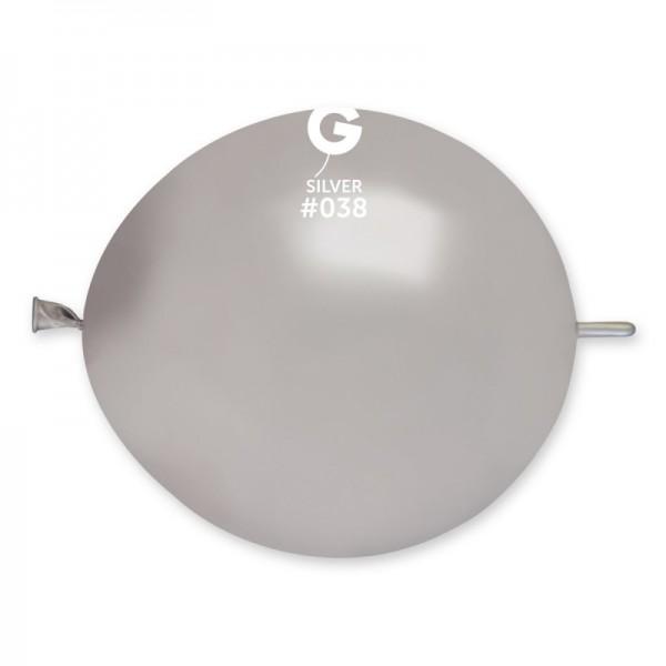 "Palloncino con link 13""/32 cm Metal 100 pz"