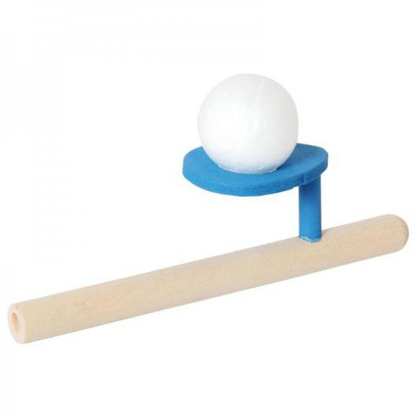 Palla che vola dalla pipa