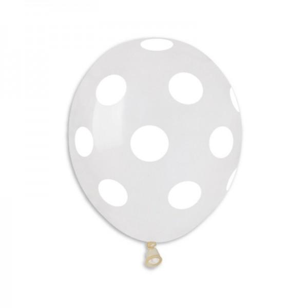 "Palloncino 5""/13 cm Polka Dots"