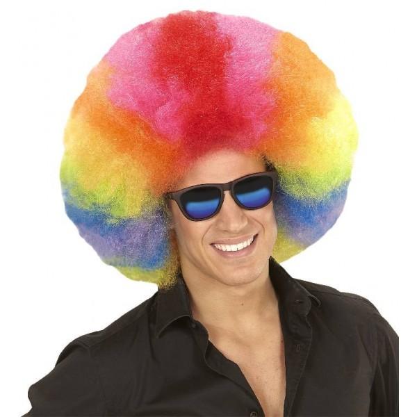 Maxi parrucca multicolor