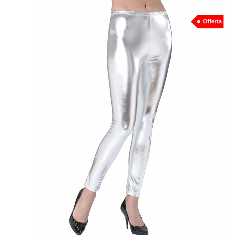 Leggings argento
