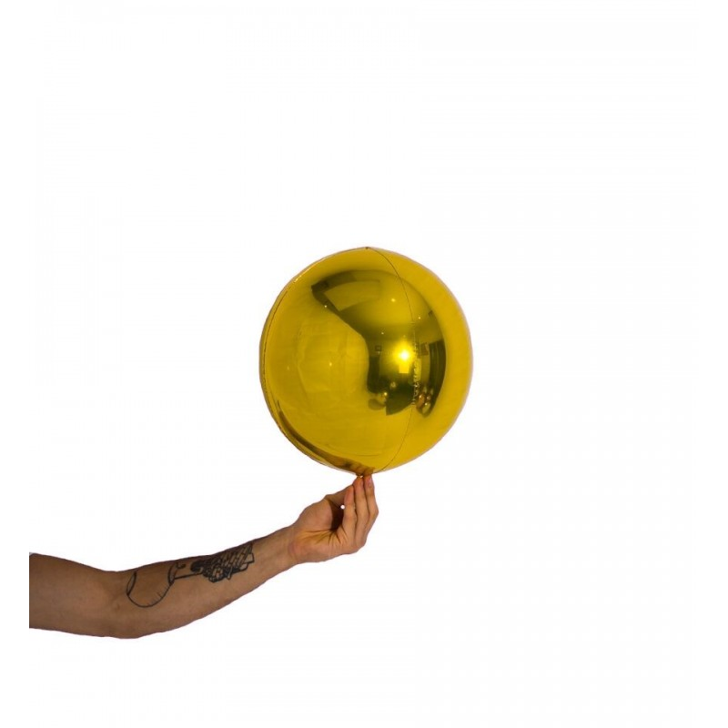 """Pallone mylar sfera 10""""/25 cm v.colori"""