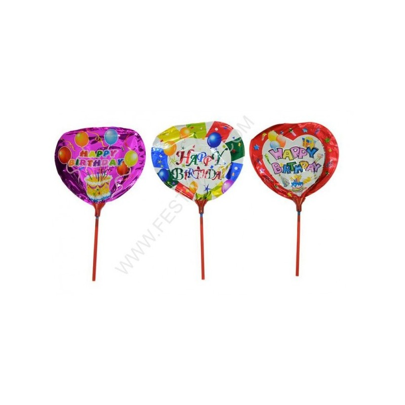 Palloncini Happy Birthday 3 pz