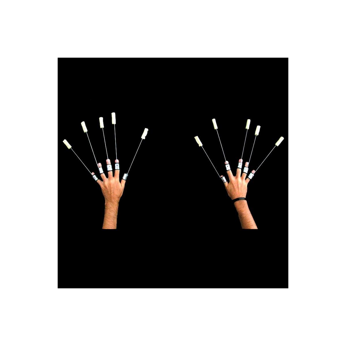 Set Di 10 Fire Fingers - Dita Di Fuoco 25cm