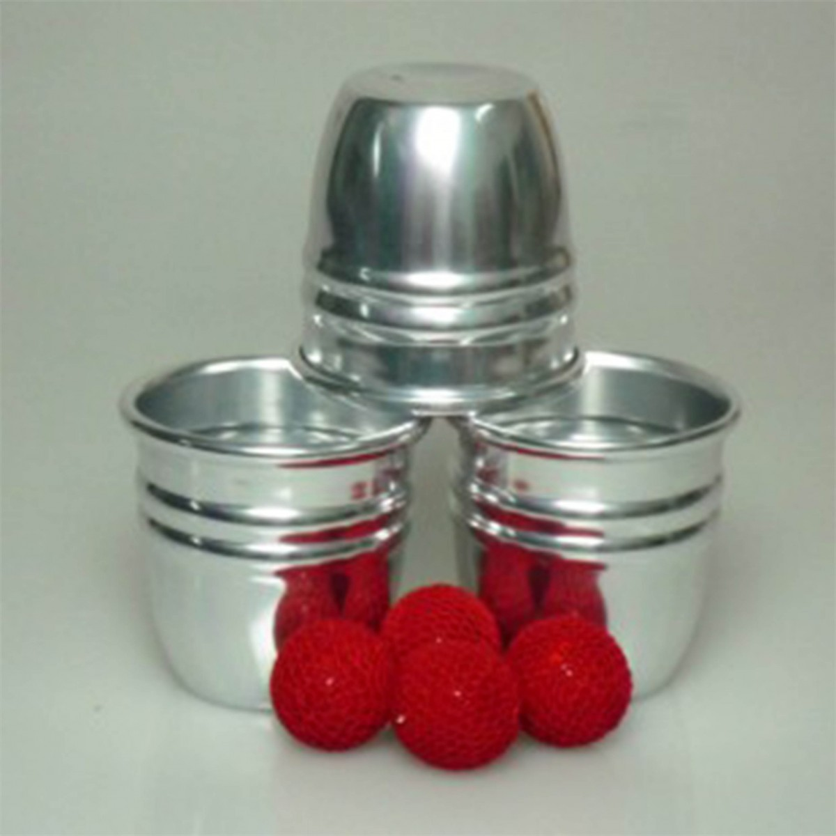 Cups & Balls + Chop Cups - 2 In 1