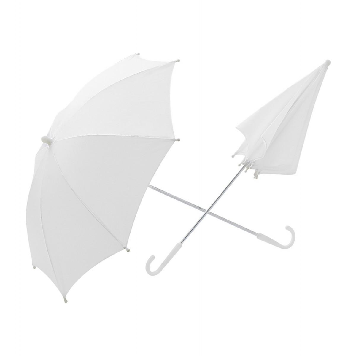 ombrello bianco diam. 60 cm
