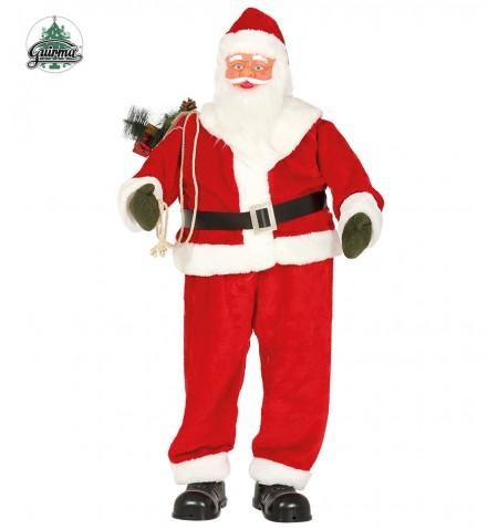 Babbo Natale Musicale.Babbo Natale Musicale Con Movimento 180cm