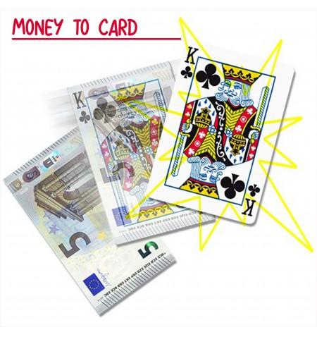 Money to card - da banconota a carta da gioco