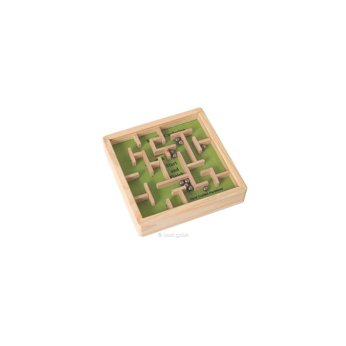 Rompicapo labirinto in legno