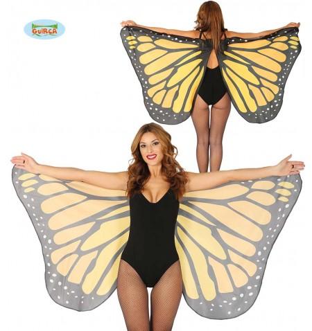 Maxi ali farfalla in tessuto 170x80cm