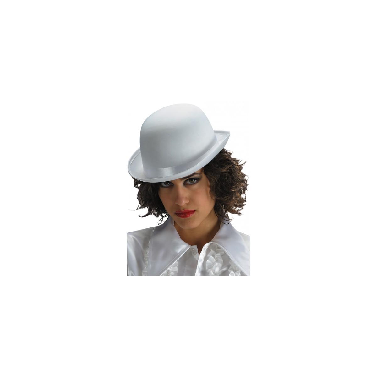 Bombetta bianca In Raso Deluxe