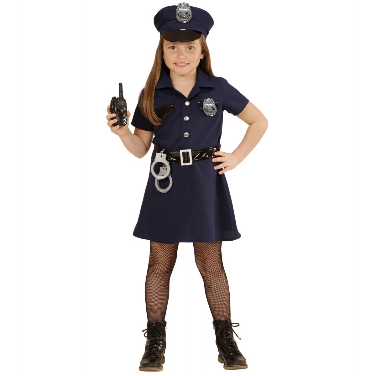 Costume Poliziotta bimba