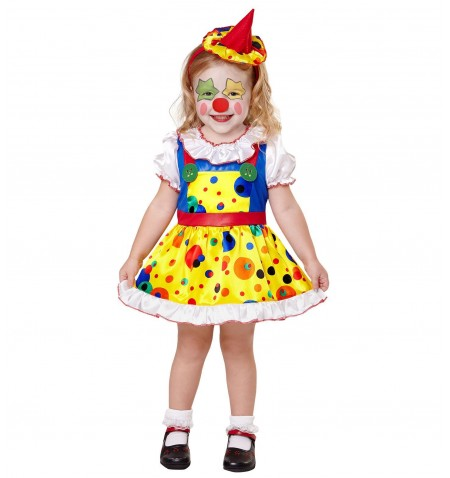 Costume clown bimba
