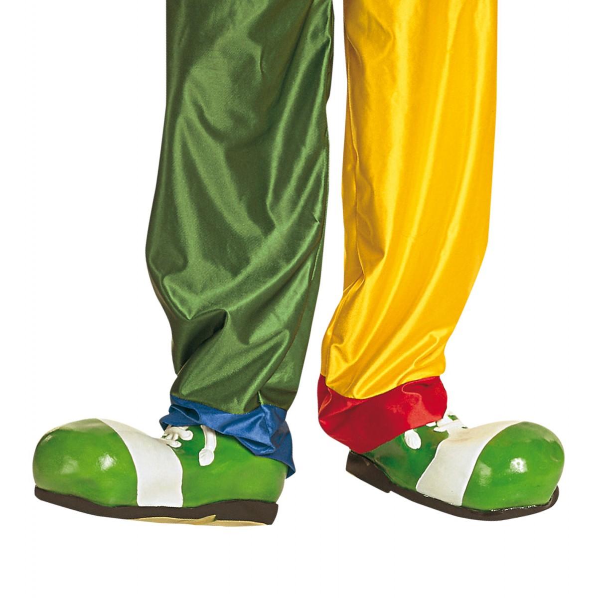 Scarpe clown  in gomma