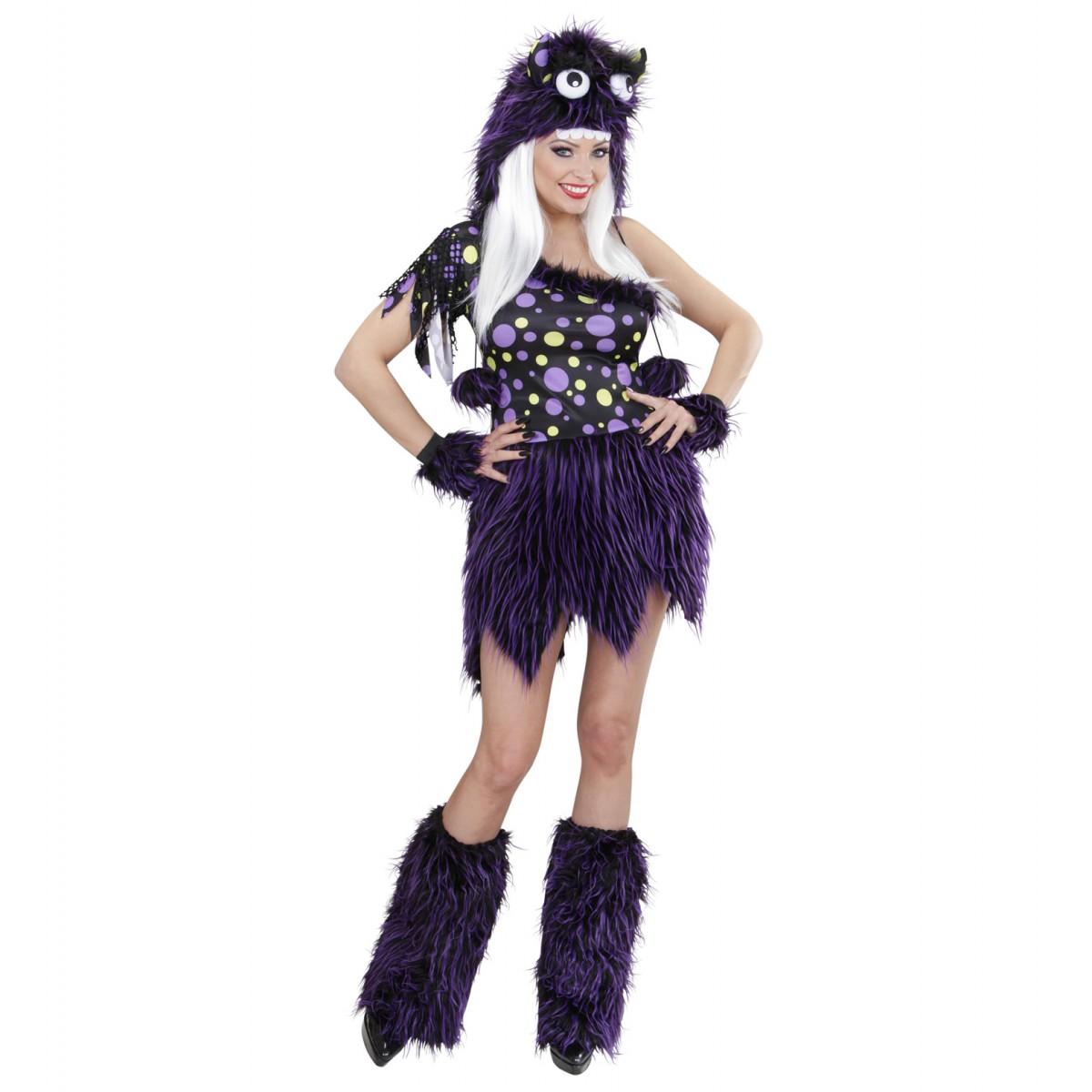 Costume lusso monster girl viola