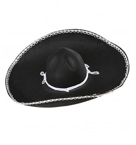 Sombrero messicano nero