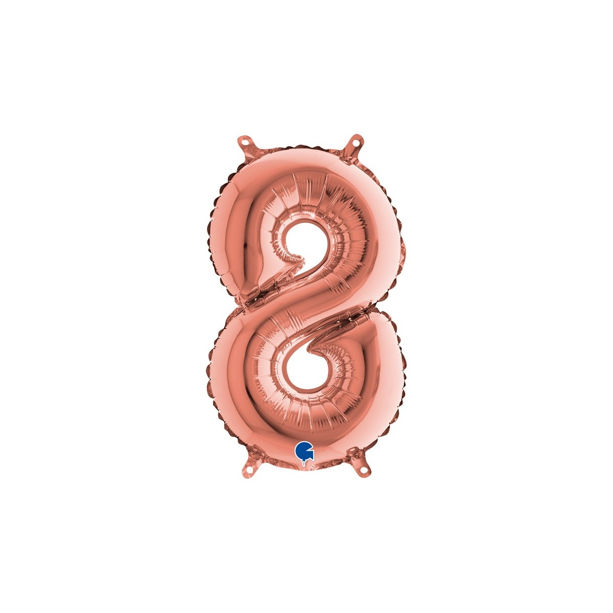 "Numero 8 in mylar 40""/100 cm"