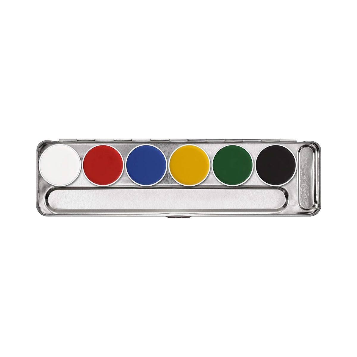 aquacolor tavolozza Metallo 6 colori