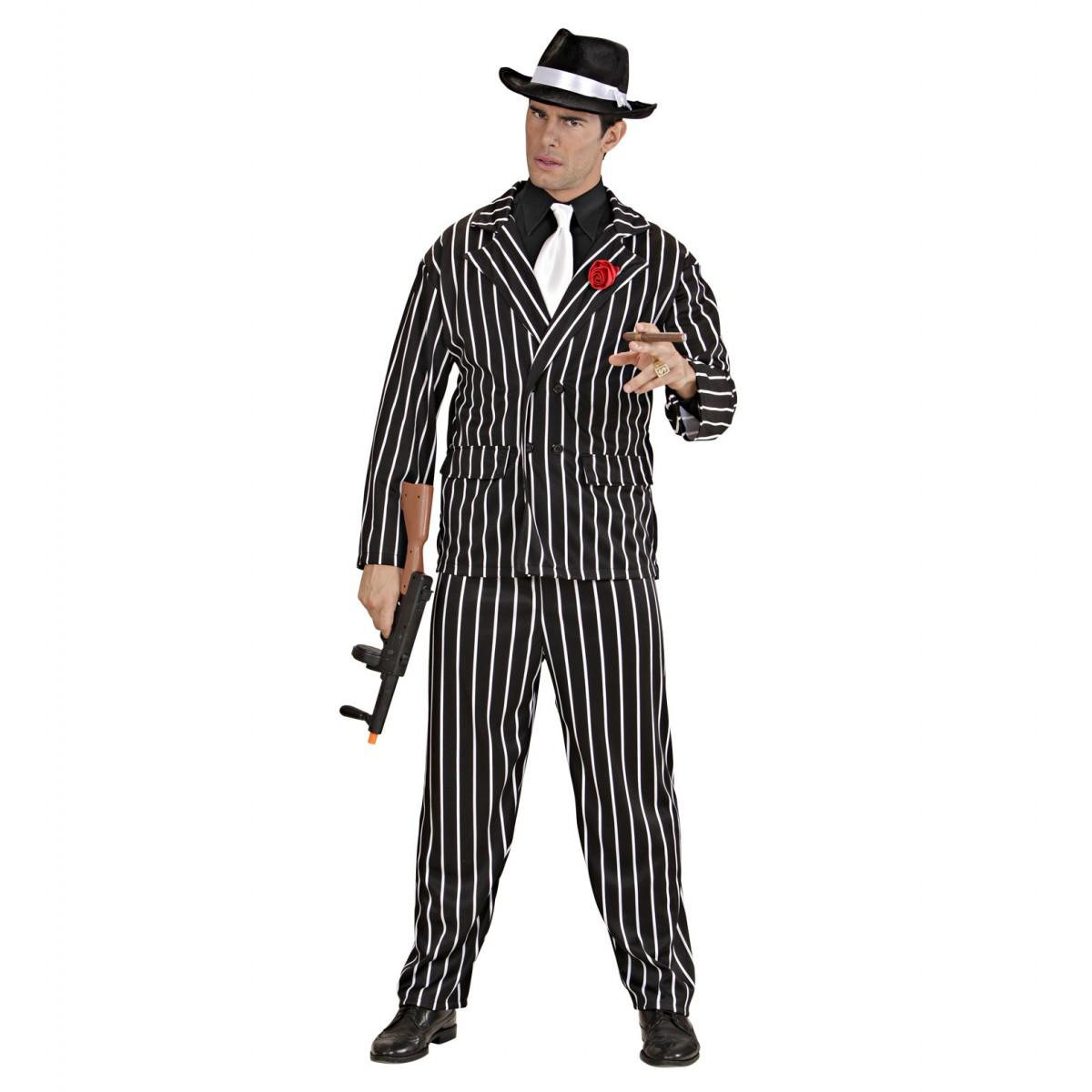 Costume gangster nero