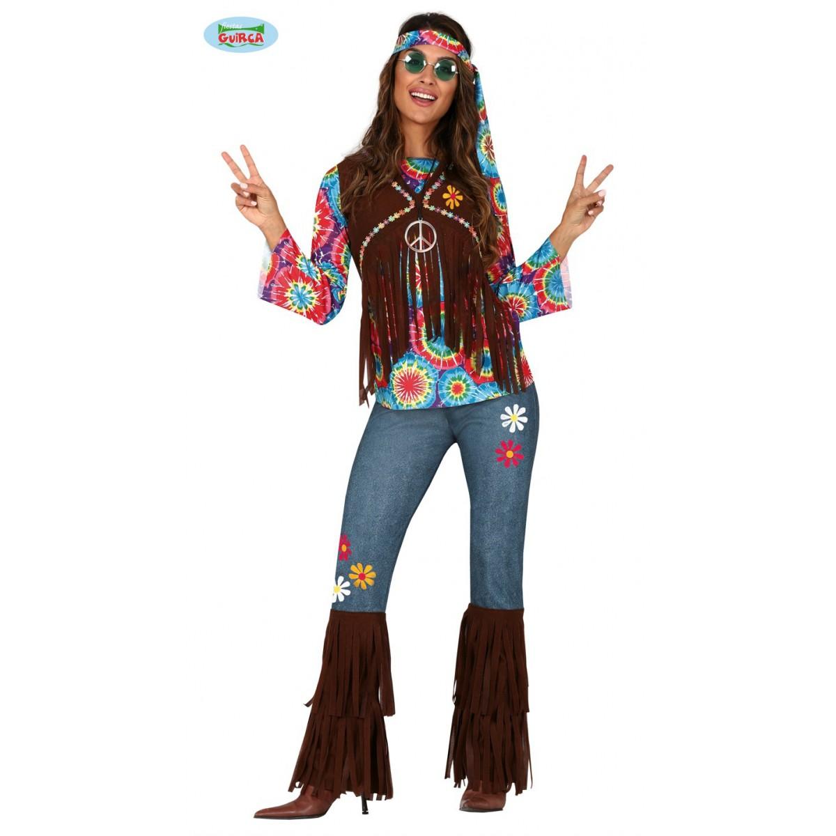 Costume funky hippie