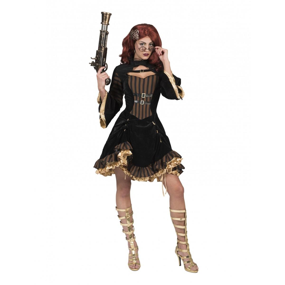 Costume donna steampunk