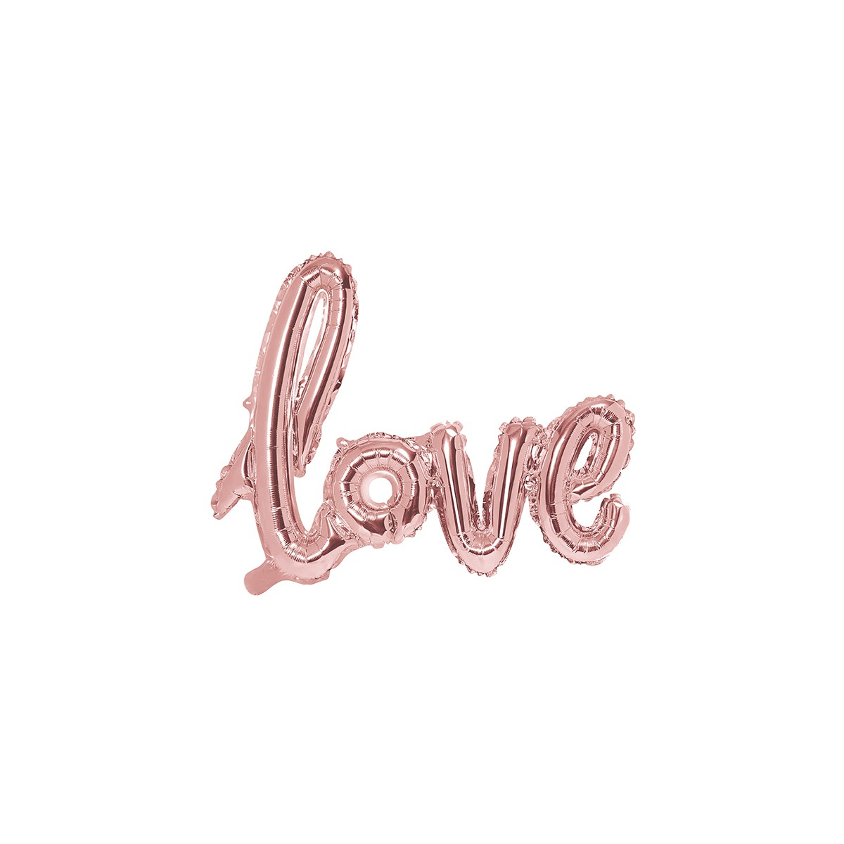 Scritta in foil Love 73 x 59cm
