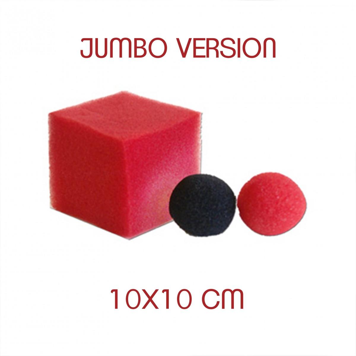 Pallina Cambiacolore A Cubo Jumbo