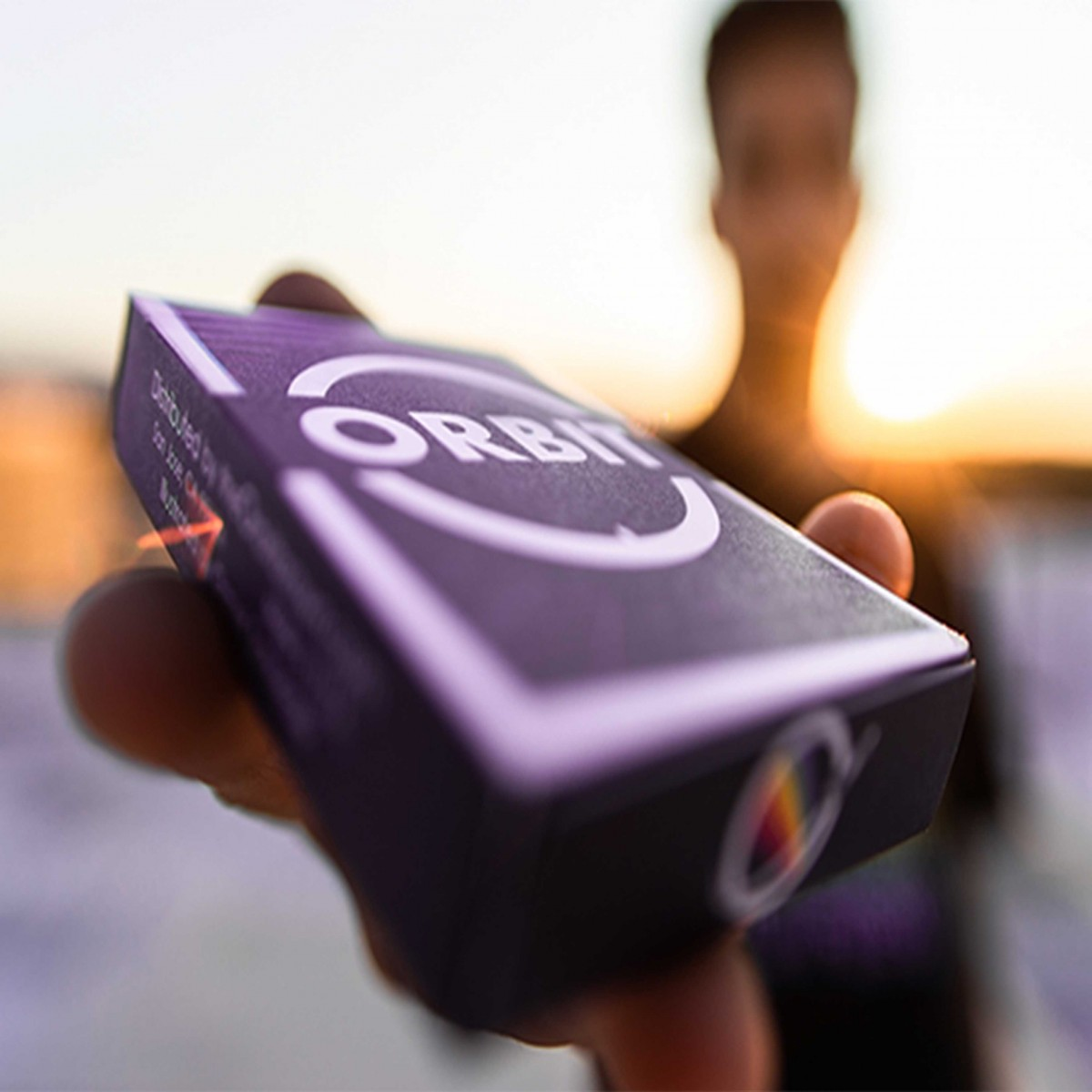 Orbit V7 playing cards