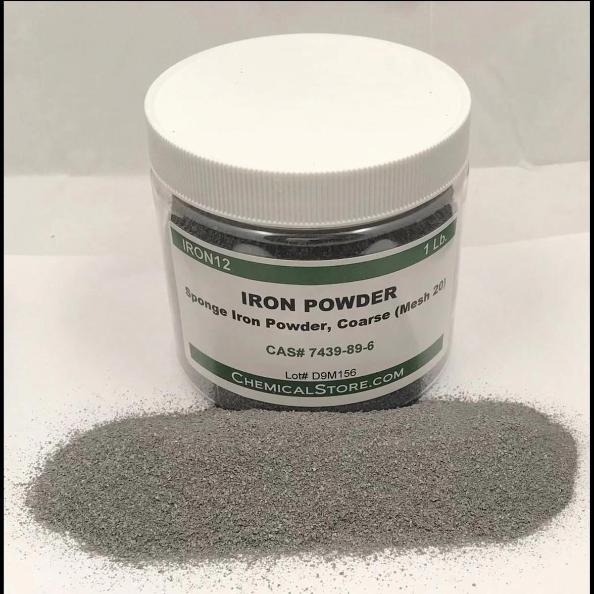 Iron powder - Polvere di ferro 100gr