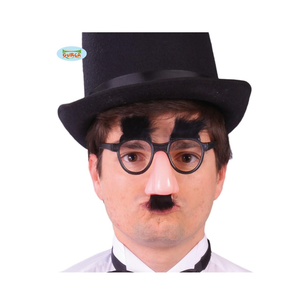 Naso con occhiali e baffi Groucho