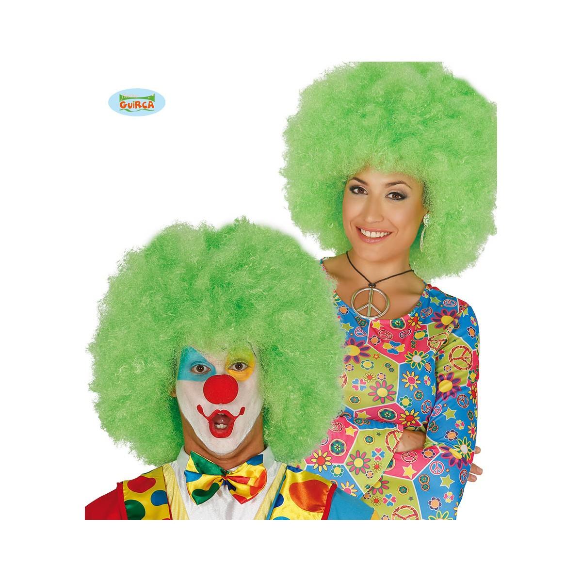 Maxi parrucca riccia color