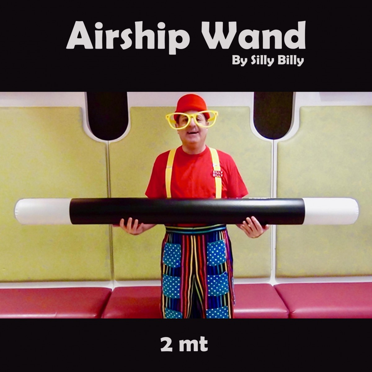 Airship Wand by Silly Billy (2 Mt)