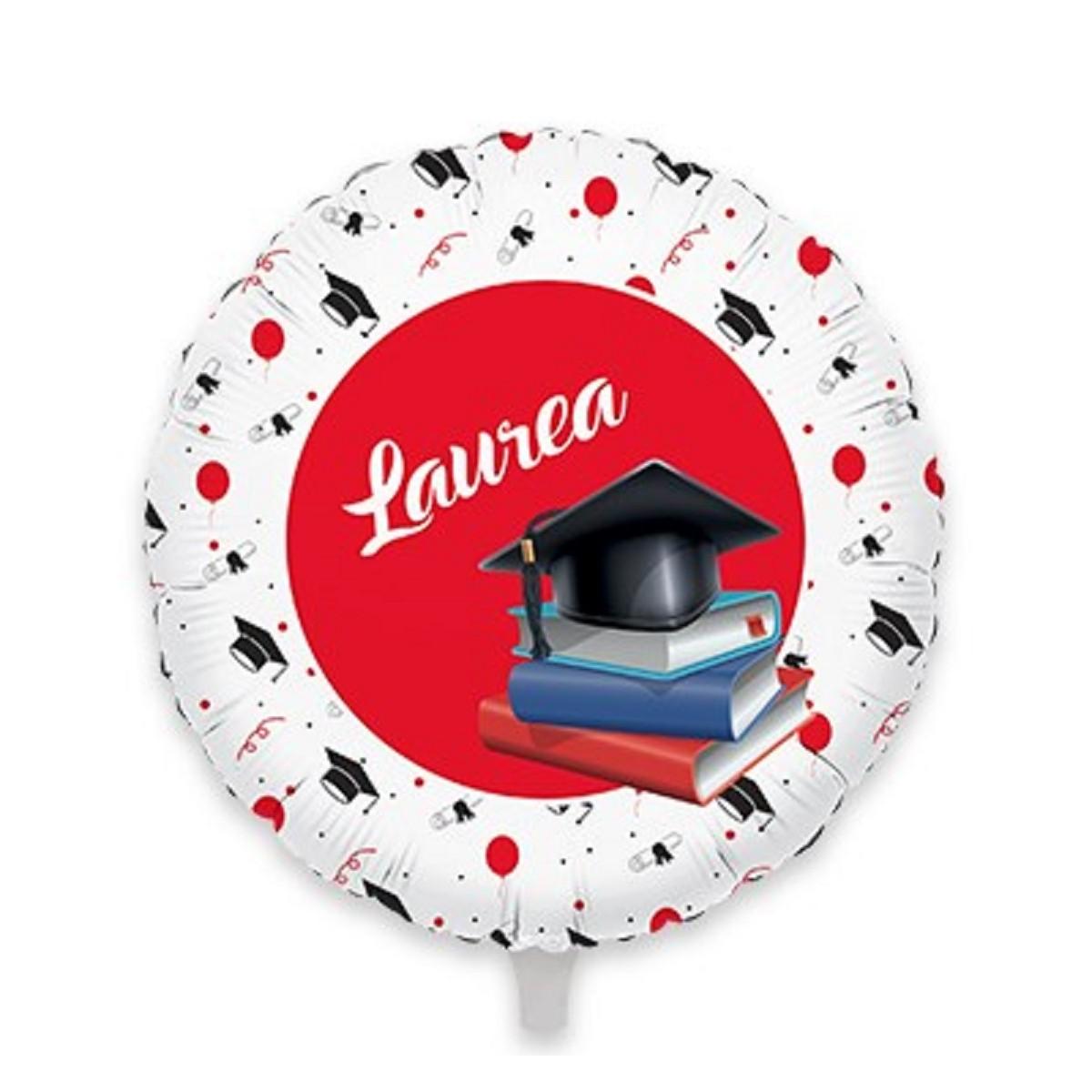 """Confezione 5 minishape 9""""/23cm la mia Laurea"""