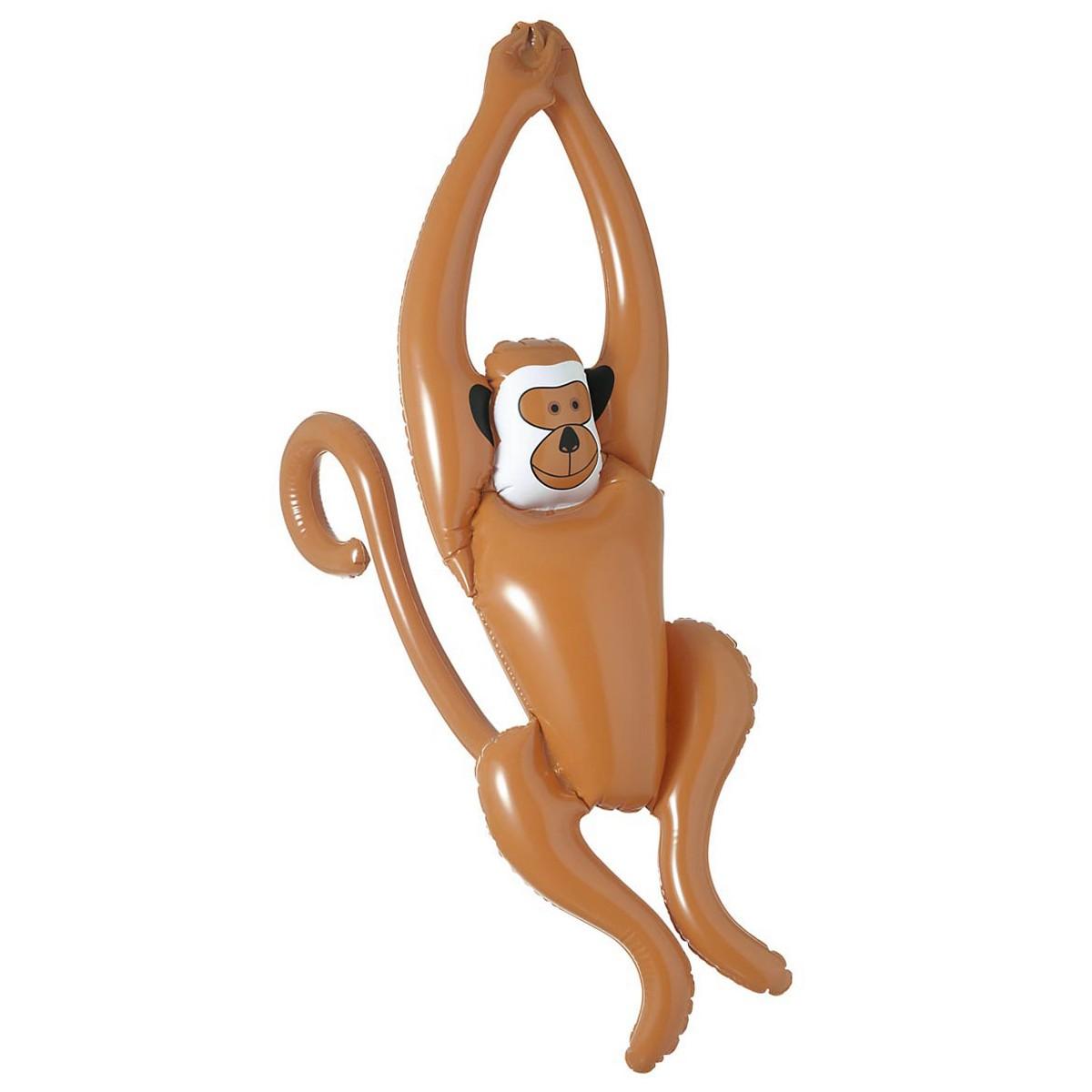 Scimmia dondolante gonfiabile 90cm