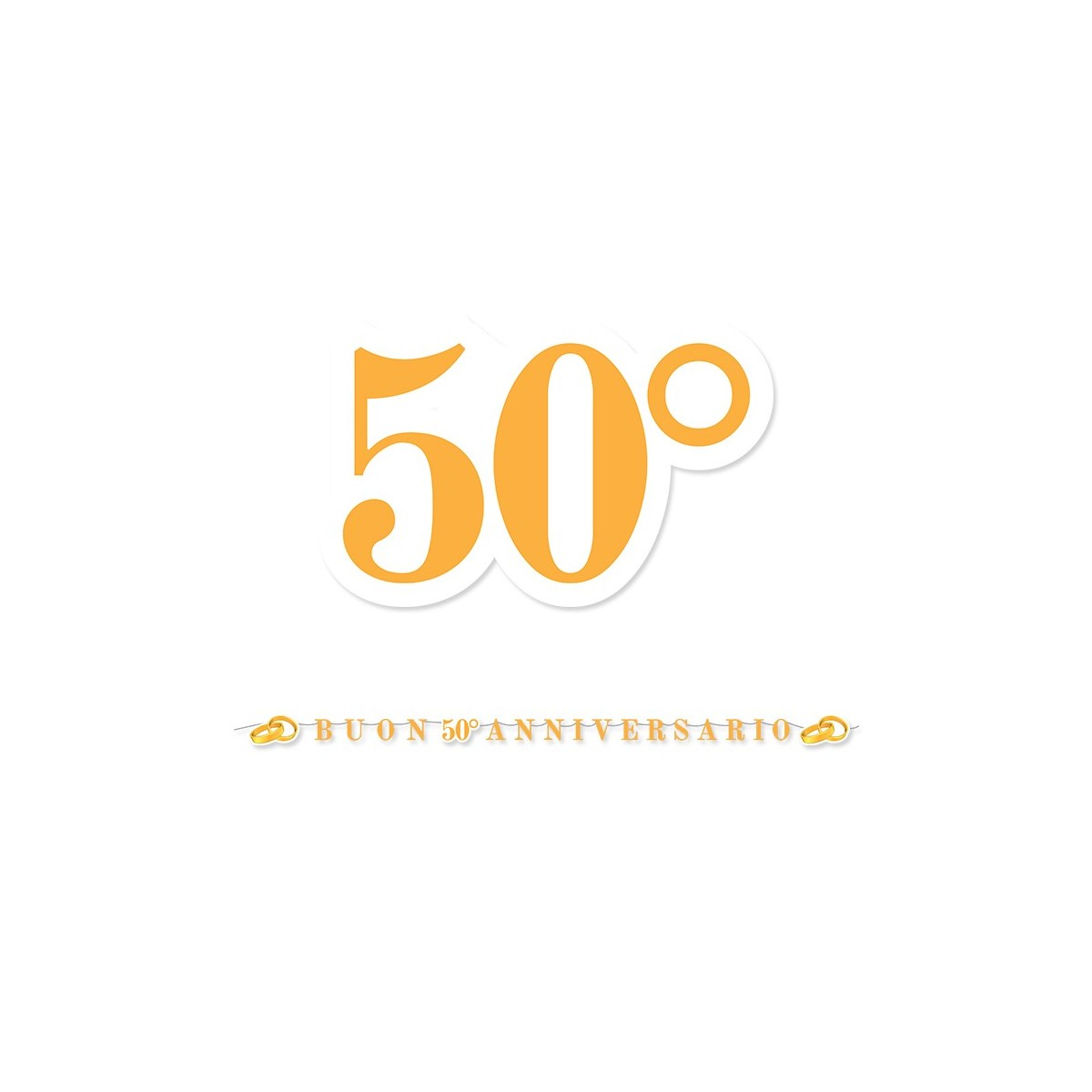 Maxi Festone 50° anniversario 6mt.