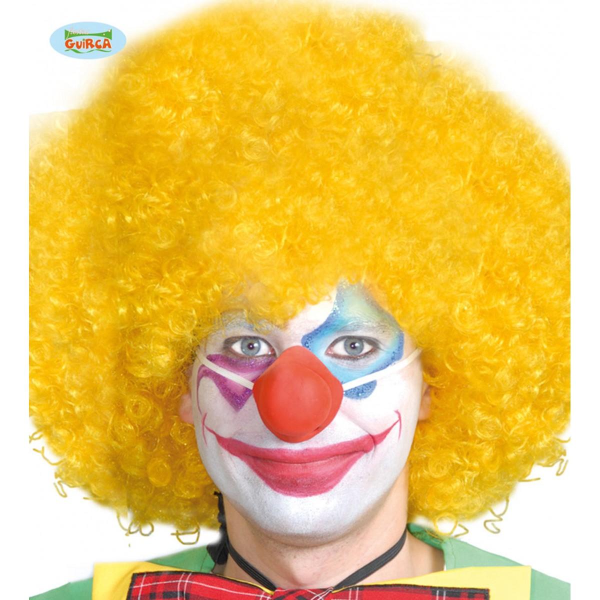 Naso clown in lattice con elastico