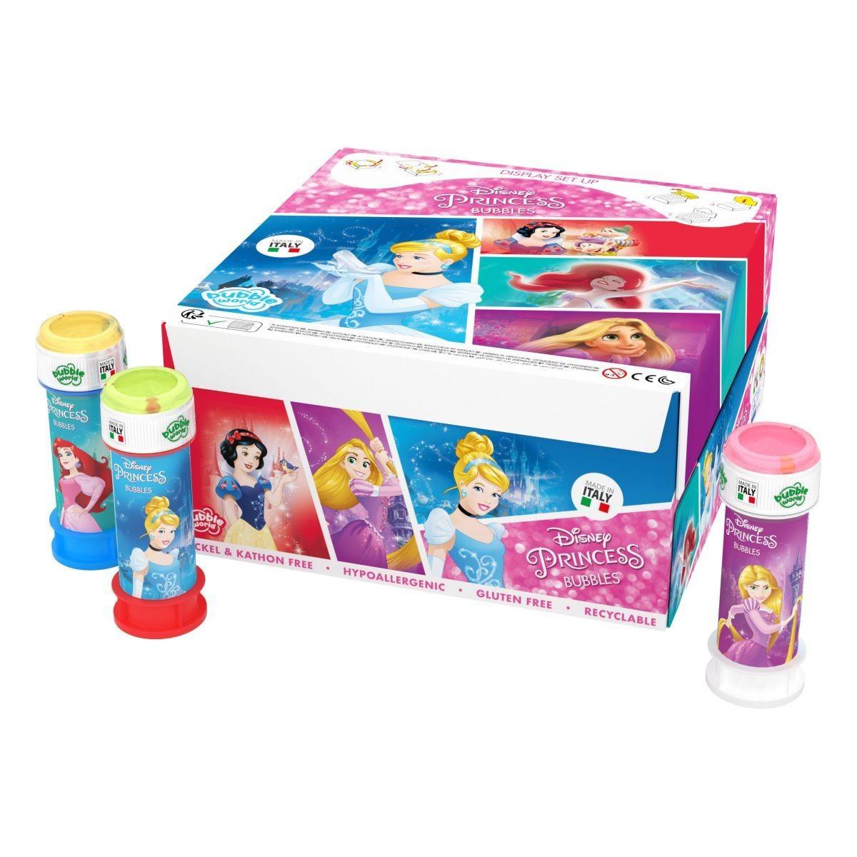 Princess bubbles confezione 36pz