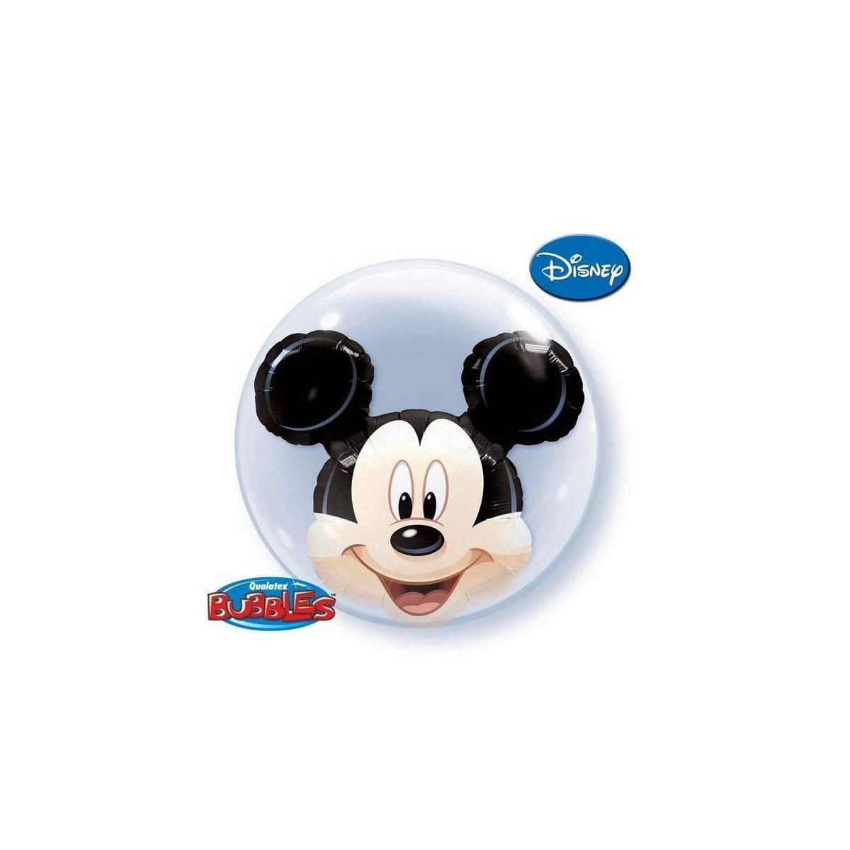 """Pallone Bubble Doppio 22""""/61cm Mickey"""